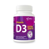 NUTRICIUS Vitamín D3 EXTRA 2500IU 90 tabliet