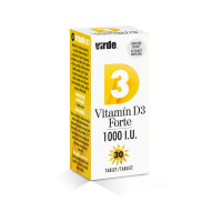 VIRDE Vitamín D3 Forte 1000 I.U. 30 tabliet