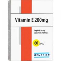 Generica Vitamín E 200 mg 60 kapsúl