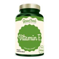 GREENFOOD NUTRITION Vitamín E 60 kapsúl