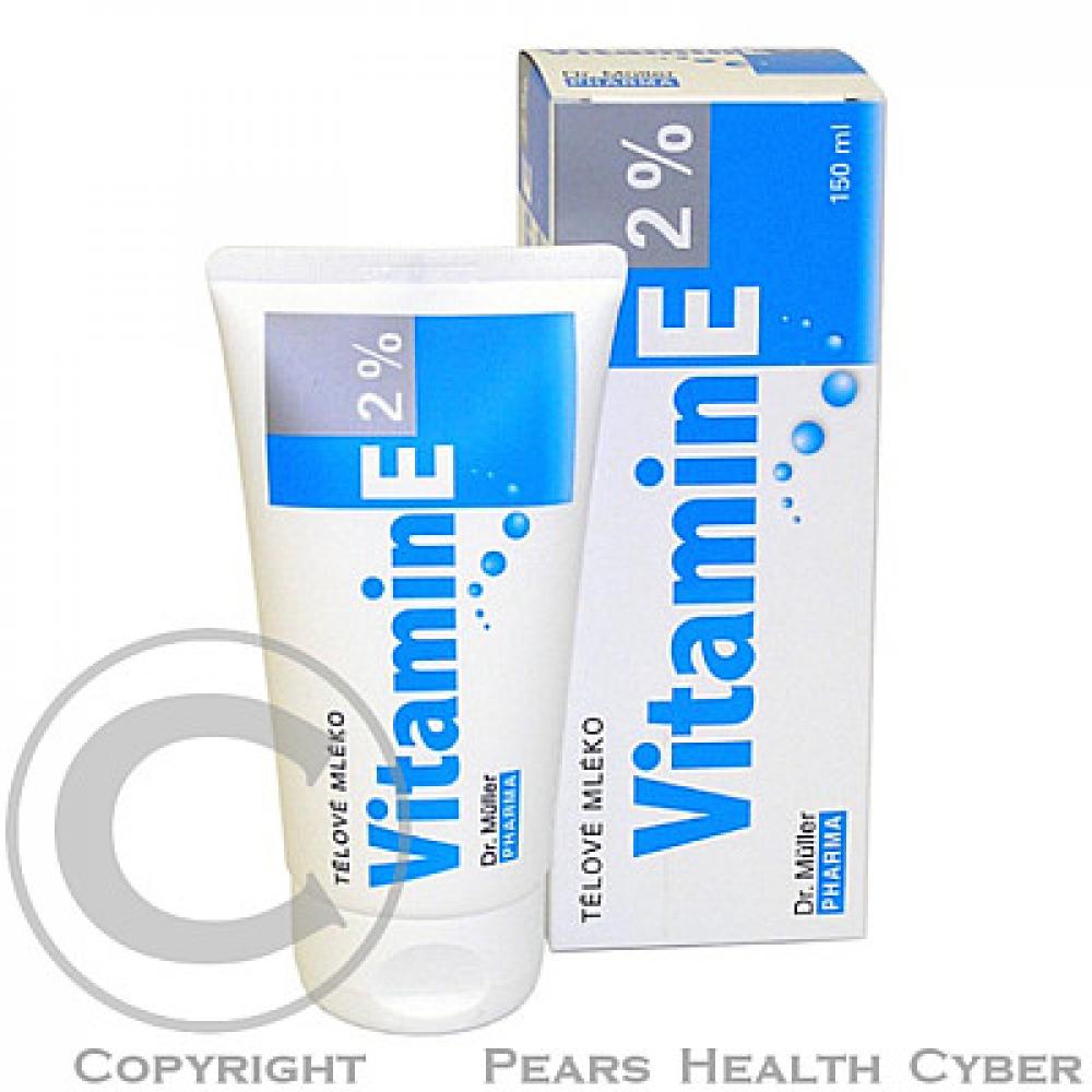 Dr Müller Vitamín E telové mlieko 150 ml
