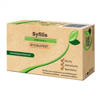 VITAMIN STATION Rýchlotest Syfilis samodiagnostický test z krvi 1 sada