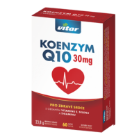 VITAR Koenzým Q10 30 mg 60 kapsúl