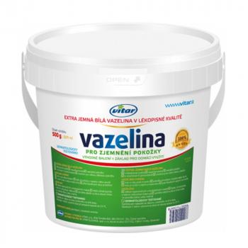 VITAR Vazelína extra jemná biela 400 g