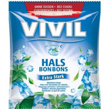 VIVIL Extra silný mentol + vitamín C bez cukru 60 g
