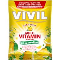 VIVIL Multivitamín citrón + medovka bez cukru 60 g