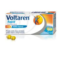 Voltaren Rapid 25 mg cps mol (blis.PVC/PVDC/Al) 1x10 ks