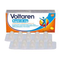 VOLTAREN Rapid 25 mg mäkké kapsuly 20 ks