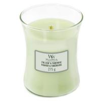 WOODWICK Vonná sviečka váza Fig Leaf & Tuberose 275 g