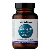 VIRIDIAN Nutrition Co-enzym Q10 with MCT 200 mg 30 kapsúl