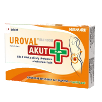 WALMARK Uroval Manosa Akut Plus 10 tabliet