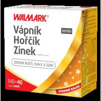 WALMARK Vápnik-Horčík-Zinok Osteo 120+60 tabliet PROMO 2020