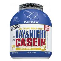 WEIDER Day & night casein príchuť vanilka 1800 g