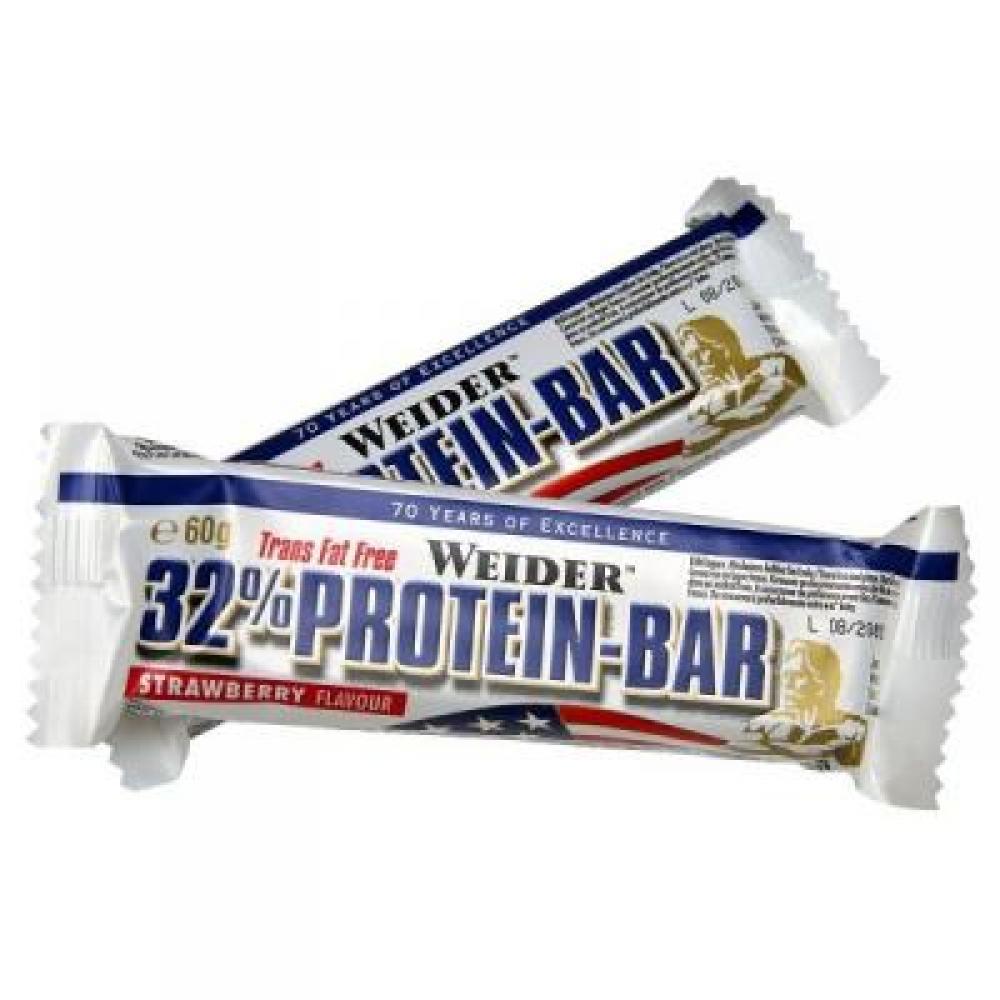 WEIDER, 32% Protein Bar, 60 g - Kokos