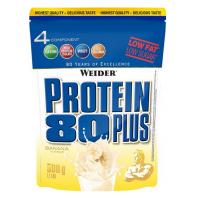 Protein 80 Plus, viaczložkový proteín, Weider, 500 g - Banán