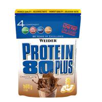 Protein 80 Plus, viaczložkový proteín, Weider, 500 g - Čokoláda