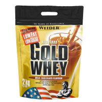 WEIDER Gold Whey srvátkový proteín Čokoláda 2000 g