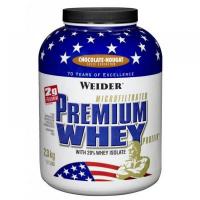 Premium Whey, srvátkový proteín, Weider, 2300 g - Fresh Banán