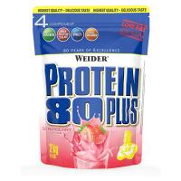 WEIDER Proteín 80 plus príchuť jahoda 2000 g
