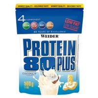 WEIDER Proteín 80 plus príchuť kokos 500 g