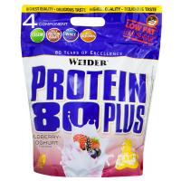 WEIDER Proteín 80 plus príchuť lesné plody a jogurt 2000 g