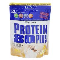 Protein 80 Plus, viaczložkový proteín, Weider, 500 g - Cookies & Cream