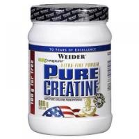 Pure Creatine, Kreatín monohydrát, 600 g, Weider