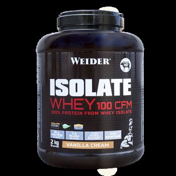WEIDER Isolate whey 100 CFM srvátkový izolát príchuť vanilla cream 2 kg