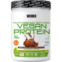 WEIDER Vegan protein príchuť brownie chocolate 750 g