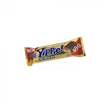 WEIDER Yippie! Proteínová tyčinka Peanut/Caramel 45 g