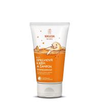 WELEDA 2v1 sprchový krém a šampón Šťastný pomaranč 150 ml