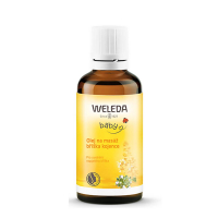 WELEDA Olej na masáž bruška dojčiat 50 ml
