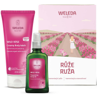 WELEDA Ružová ošetrujúca starostlivosť Darčekové balenie