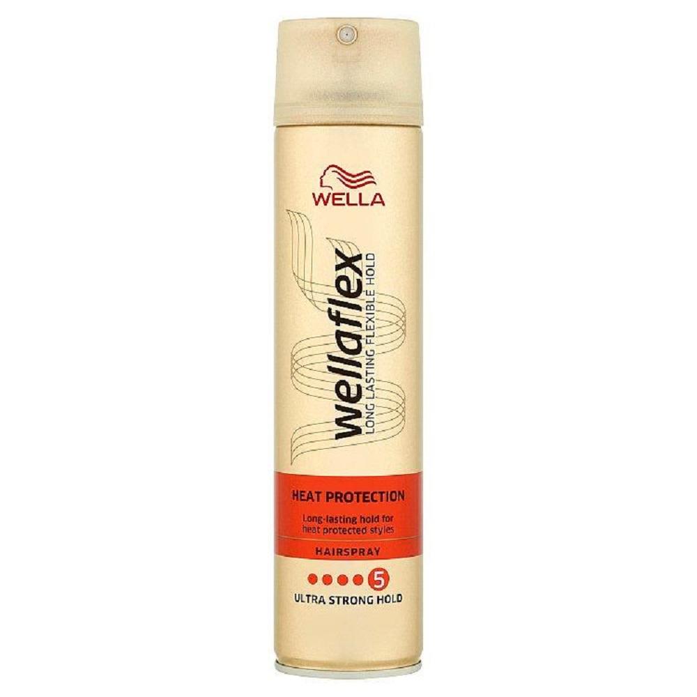 WELLAFLEX Heat Creations lak na vlasy 250ml