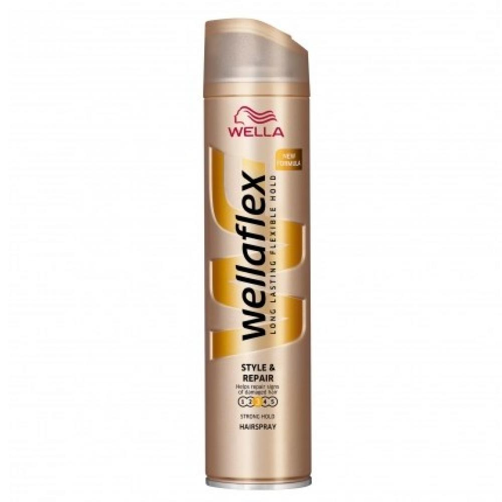 Wellaflex Style & Repair lak na vlasy 250 ml