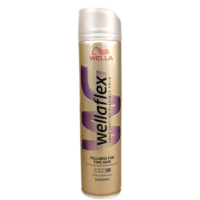 Wellaflex Lak s leskom na jemné vlasy 250 ml