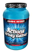 AMINOSTAR W.Gainer Actions 2250 g - jahoda