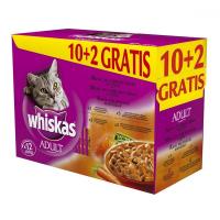 Whiskas kapsa Menu zo 4 druhov mäsa 12x 100 g
