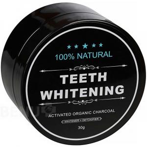 CHARCOAL Bieliaci zubný púder 30 g