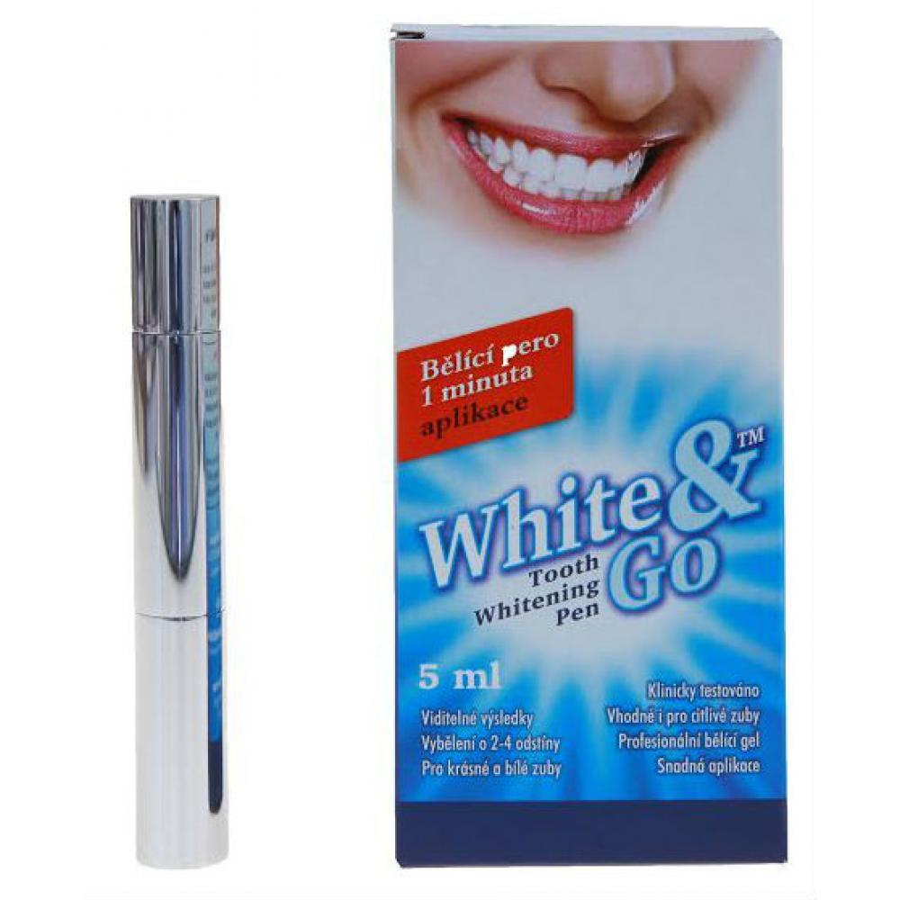 HELLERDENT Whitening Pen - bieliaca zubná pero 5 ml