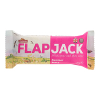 WHOLEBAKE Flapjack ovsený malina-jahoda bezlepkový 80 g