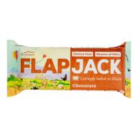 WHOLEBAKE Flapjack ovsený s polevou s čokoládovou príchuťou bezlepkový 80 g