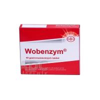 WOBENZYM gastrorezistentné tablety 40 ks