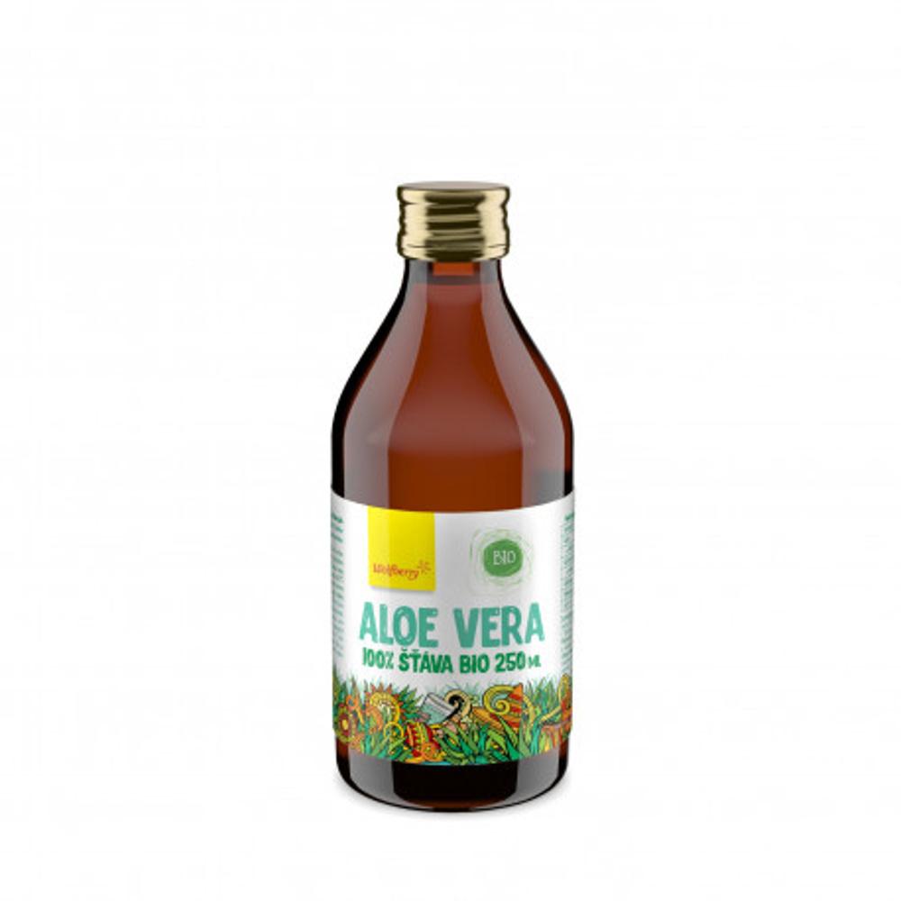 Wolfberry Aloe vera šťava 100% BIO 250 ml