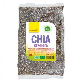 WOLFBERRY Chia semienka BIO 500 g