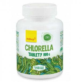 WOLFBERRY Chlorella 400 tabliet BIO