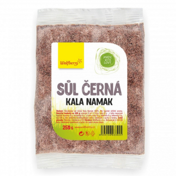 WOLFBERRY Himalájska soľ čierna Kala Namak 250 g