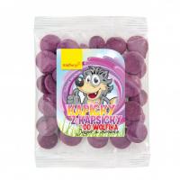 WOLFBERRY Kapičky z kapsičky od Wolfíka jogurt, čučoriedka 17 g