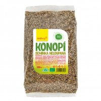 WOLFBERRY Konopné semienko nelúpané 500 g BIO