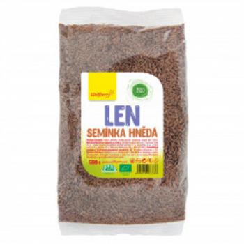 WOLFBERRY Ľanové semienko hnedé BIO 500 g